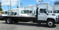 2006 GMC Topkick diesel with 22 ft flat deck