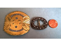 metal detecting finds belt buckles