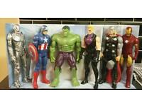 Set of 6 Avengers