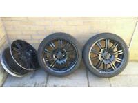 BMW M3 rep wheels. 5x120