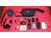 Canon Camera and Lenses Job Lot
