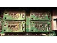 Roland SRX 02, 07, 97 and 98 expansion modules for sale.