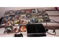 PS3 cheap with 27 games