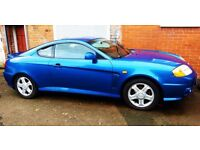 2004 (54) Hyundai Coupe 2.0SE Petrol Manual Spares or Repair Breaking Salvage For Parts COMPLETE CAR