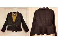 Girl's NEXT light weight jacket blazer fab condition size age 6 years