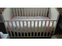 Cot Bed with Mattress from Babies R Us