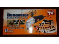 The Original Renovator Deluxe Multi-Tool Kit As Seen on TV with 37 Accessories