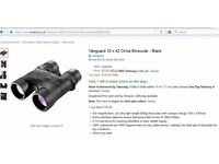 NEW Vanguard 10 x 42 Orros Binocular - Black