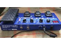 ZOOM Guitar multi effects processor