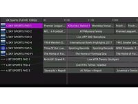 IPTV - 1300+ CHANNELS - PPV INCLUDED