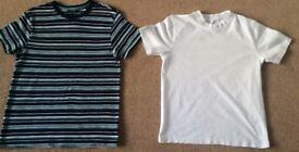 Boys TShirt 10 - 11 Years - Both For £3