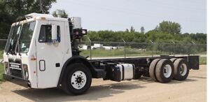2012 Mack leu garbage truck and cab & chassis