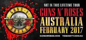 Who has an Appetite for Destruction!!! GUNS N ROSES TICKETS Appin Wollondilly Area Preview