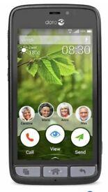 Doro 8030 easy smartphone.