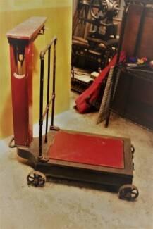 Antique Large Fairbanks Patent No. 11 Scales