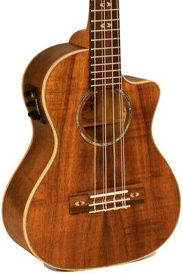 Lanikai CK-6EK Curly KOA Tenor Uke 6 String w/ Fishman Kula Electric