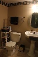 1 Bed apartment in the lower level of a semi Avail Sept1st-INC