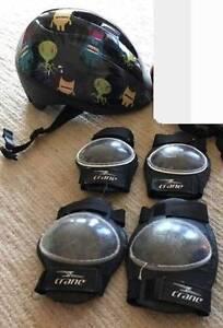 Boy's Helmet, knee & elbow pads Harrison Gungahlin Area Preview