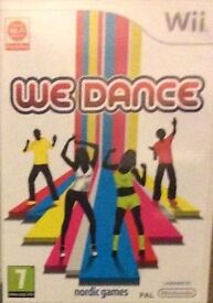 Wii We Dance GAME Boxed