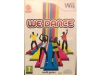 Wii WE DANCE Dancing GAME Boxed