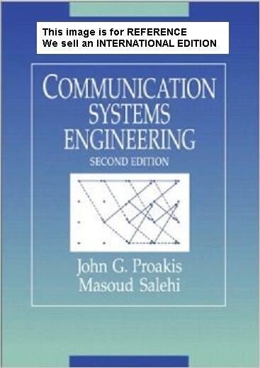 Communication Systems Engineering by John G. Proakis (Int' Ed Paperback)2 Ed