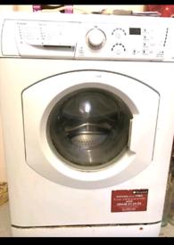 2 hotpoint washing machines 1 aquarius WMF540 1 WDF740
