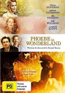 PHOEBE IN WONDERLAND DVD NEW.MAGICAL TALE YOUNG GIRL BETWEEN FANTASY & REALITY