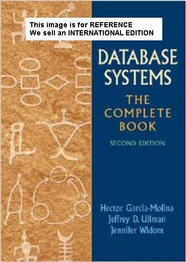 Database Systems: The Complete Book by Hector Garcia-Molina(Int' Ed Paperback)2E