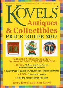 KOVEL'S ANTIQUES & COLLECTIBLES PRICE GUIDE 2017 OVER 25,000