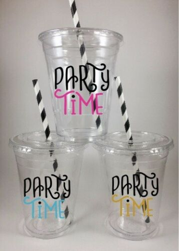 Peter Pan Party Cups Set of 24 With Lids and Straws
