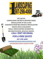 Landscaping, Soil and Sod, Spring Lawn Care