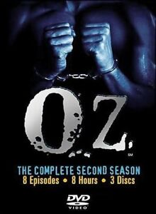 OZ - Complete 2nd Season - 8 Episodes on 3 DVDs (New, Sealed)