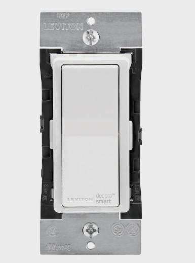 New! LEVITON Decora Smart Apple Home WiFi In-Wall WIRELESS LIGHT SWITCH DH15S-RZ