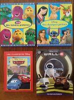 Livres Disney (8$ pour les 4 livres)