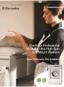 Fully upgraded Electrolux Commercial Washing Machine, GTA