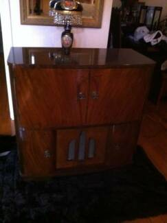 Vintage STC Radiogram in Cabinet Sideboard Buffett Hall Table Oakden Port Adelaide Area Preview