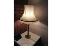 Table Lamp Finished In Antique Gold