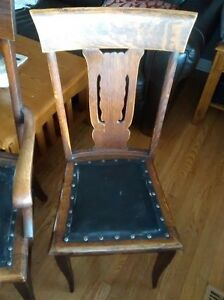 set of 6 dining room chairs, maybe antique