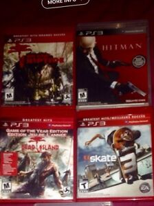 PS3 game and head set