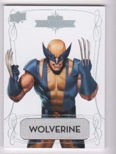 2016 Upper Deck Marvel Gems Exquisite Name Plate 50 Wolverine 05/10