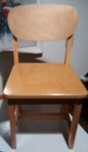 Childrens wood chair and more