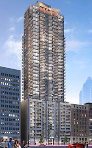 Large Brand New (725 sqft) 1-BDR condo Downtown Montreal