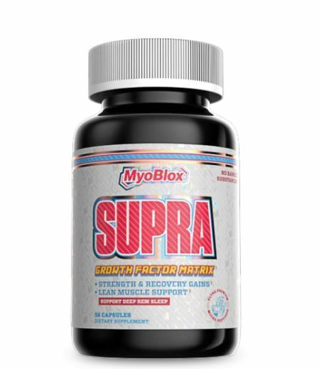 Myoblox SUPRA Micro Peptides for Strength Recovery Lean Muscle Mass, 56 Capsules 1