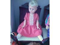 Rare Vintage 1960's / 1970's Effe Bambole Franca Doll