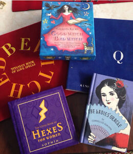 Oracles , spells, charm books
