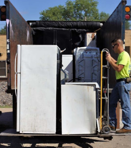 Broken stainless   steel appliances picked up FREE