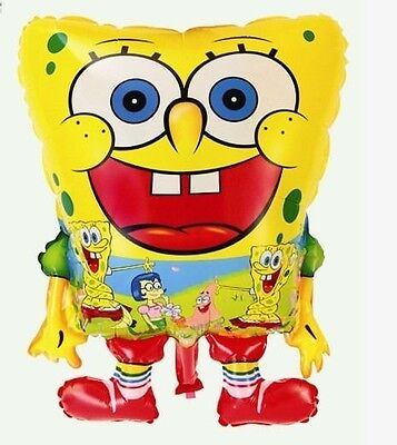 SpongeBob Sponge Bob Helium Foil Balloons Cartoon Wedding Birthday Party Festa - Sponge Bob Birthday