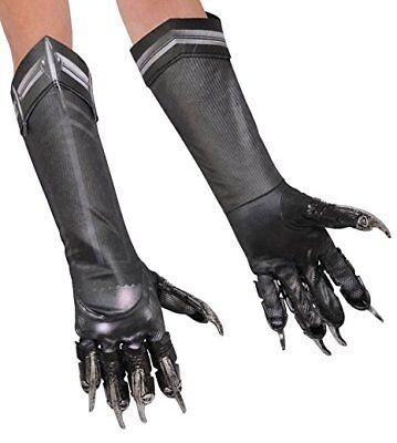 Schwarzer Panther Erwachsene Deluxe Handschuhe Film Comicbuch Superheld - Superhelden Handschuhe