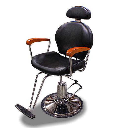 New Mtn All Purpose Barber Salon Spa Beauty Hydraulic Recline Chair Black OAK79
