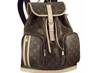 lv women men packpack brown